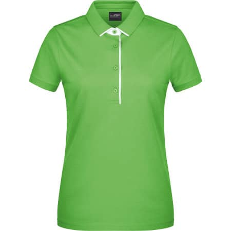 Ladies` Polo Single Stripe von James+Nicholson (Artnum: JN725