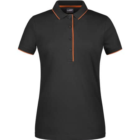 Ladies` Polo Stripe von James+Nicholson (Artnum: JN727