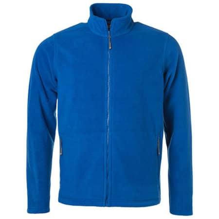 Men`s Fleece Jacket JN in Royal von James+Nicholson (Artnum: JN782