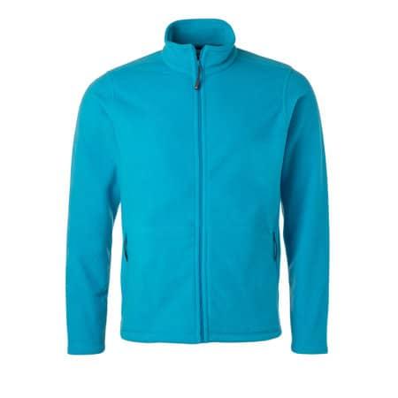 Men`s Fleece Jacket JN von James+Nicholson (Artnum: JN782