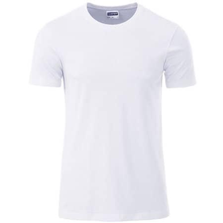 Men`s Basic-T in White von James+Nicholson (Artnum: JN8008