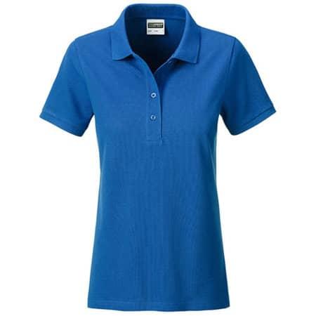 Ladies` Basic Polo in Royal von James+Nicholson (Artnum: JN8009