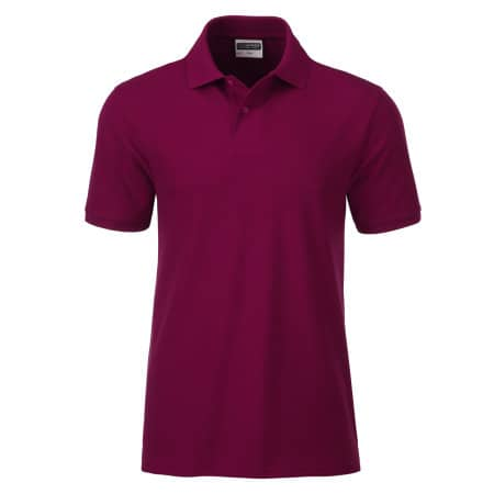 Men`s Basic Polo von James+Nicholson (Artnum: JN8010