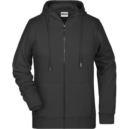 Ladies` Zip-Hoody von James+Nicholson (Artnum: JN8025