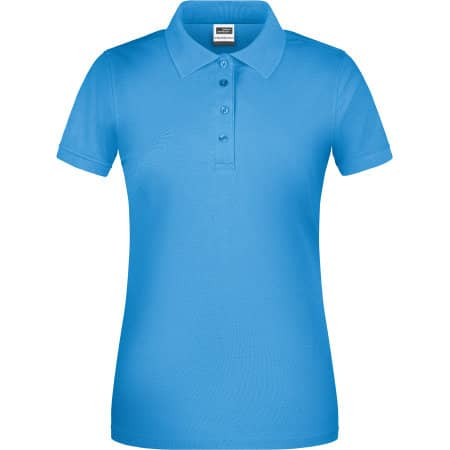 Ladies` Bio Workwear Polo von James+Nicholson (Artnum: JN873