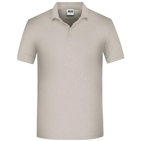 Men`s Bio Workwear Polo in Stone von James+Nicholson (Artnum: JN874