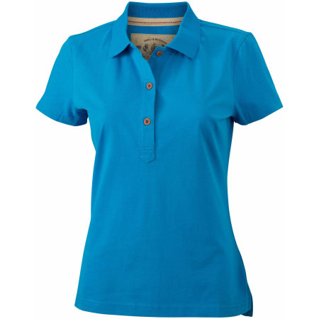 Ladies` Vintage Polo von James+Nicholson (Artnum: JN940