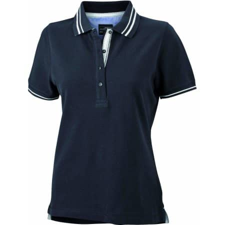 Ladies` Lifestyle Polo von James+Nicholson (Artnum: JN946