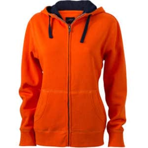 Ladies` Lifestyle Zip-Hoody