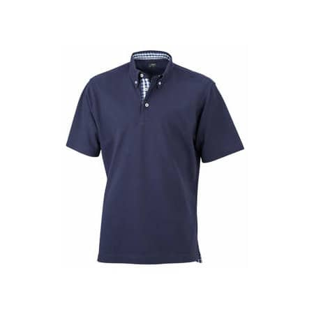 Men`s Plain Polo von James+Nicholson (Artnum: JN964