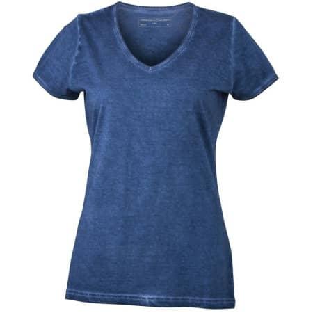 Ladies` Gipsy T-Shirt von James+Nicholson (Artnum: JN975