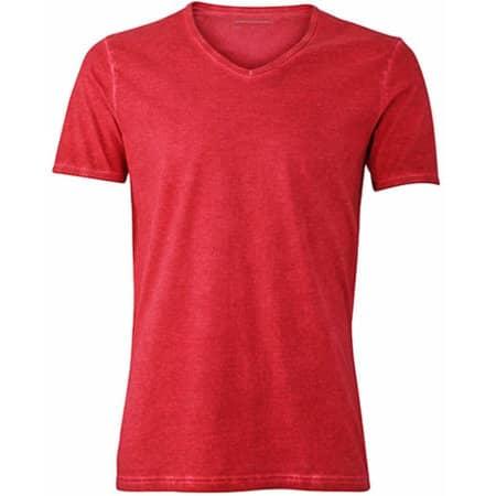 Men`s Gipsy T-Shirt in Chili von James+Nicholson (Artnum: JN976