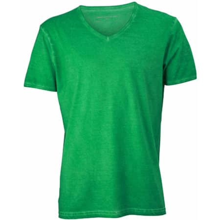 Men`s Gipsy T-Shirt in Fern Green von James+Nicholson (Artnum: JN976
