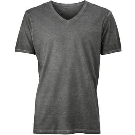 Men`s Gipsy T-Shirt in Graphite (Solid) von James+Nicholson (Artnum: JN976