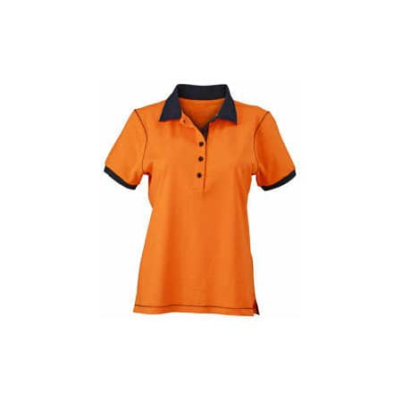 Ladies` Urban Polo von James+Nicholson (Artnum: JN979
