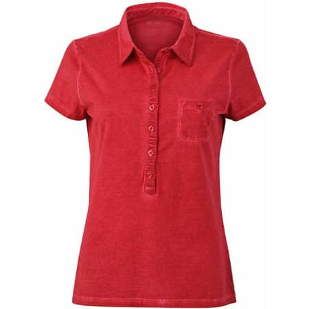 Ladies` Gipsy Polo von James+Nicholson (Artnum: JN987