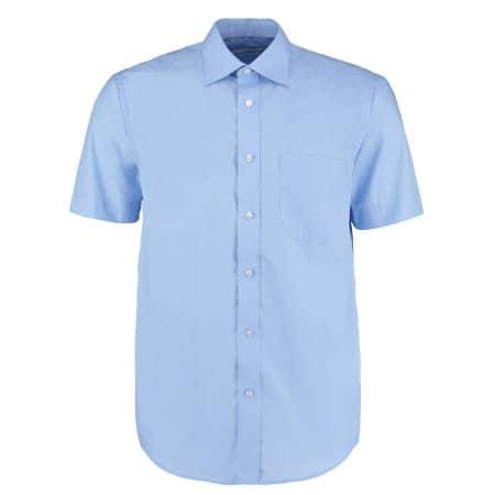 Men`s Business Shirt Short Sleeve von Kustom Kit (Artnum: K102