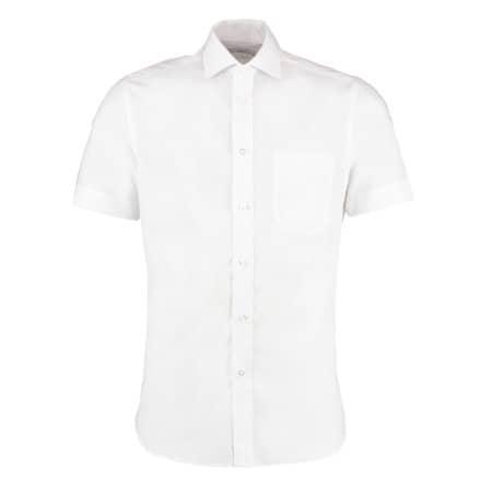 Men`s Premium Non Iron Corporate Shirt Short Sleeve von Kustom Kit (Artnum: K115