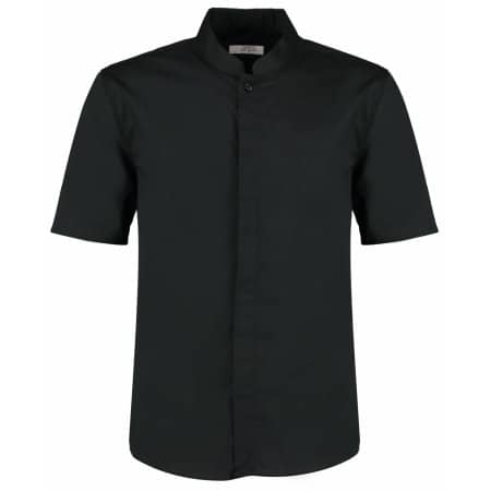 Men`s Bar Shirt Mandarin Collar Short Sleeve von Bargear (Artnum: K122