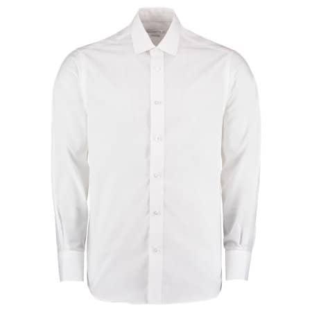 Business Tailored Fit Poplin Shirt von Kustom Kit (Artnum: K131