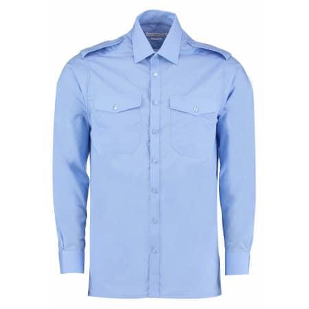 Men`s Pilot Shirt Long Sleeve von Kustom Kit (Artnum: K134