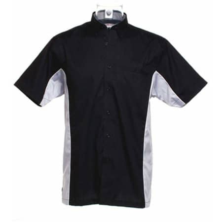 Sportsman Shirt Short Sleeve in Black|Silver Grey (Solid)|White von Gamegear (Artnum: K185