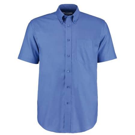 Men`s Workwear Oxford Shirt Short Sleeve von Kustom Kit (Artnum: K350