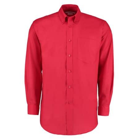 Men`s Workwear Oxford Shirt Long Sleeve von Kustom Kit (Artnum: K351