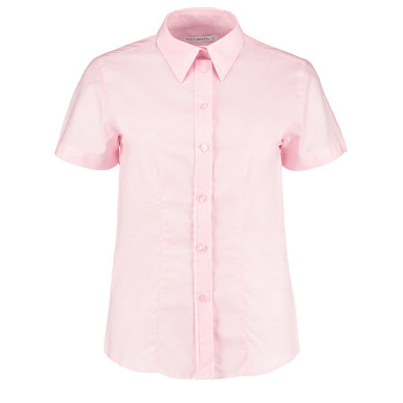 Women`s Workwear Oxford Shirt Short Sleeve von Kustom Kit (Artnum: K360