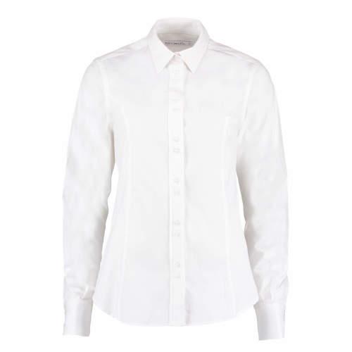 Kustom Kit - Women`s City Business Shirt Long Sleeve