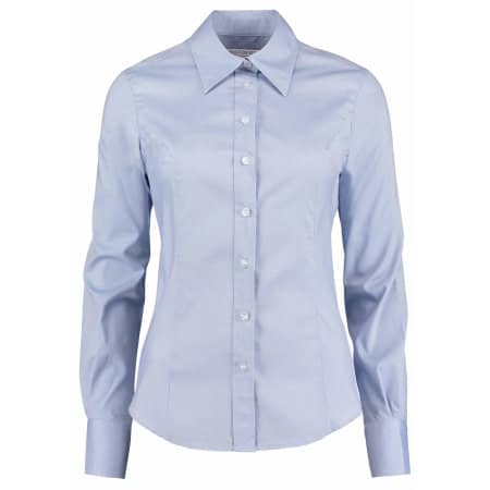 Women`s Corporate Oxford Shirt Long Sleeve von Kustom Kit (Artnum: K702