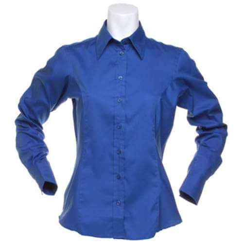 Kustom Kit - Women`s Corporate Oxford Shirt Long Sleeve