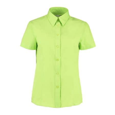 Women`s Workforce Poplin Shirt Short Sleeve von Kustom Kit (Artnum: K728