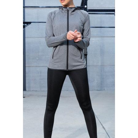 Ladies` Fashion Fit Sports Jacket von Gamegear (Artnum: K916