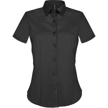 Pflegeleichte Damen Kurzarm Stretch Blus von Kariban (Artnum: KBK532