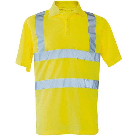 Hi-Viz Polo Shirt Basic EN ISO 20471 in Signal Yellow von Korntex (Artnum: KX070