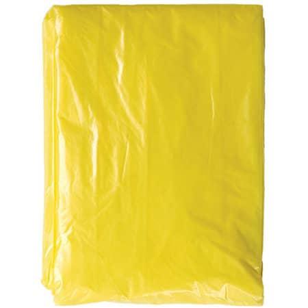 Disposable Raining Poncho Sumatra in Signal Yellow von Korntex (Artnum: KX107
