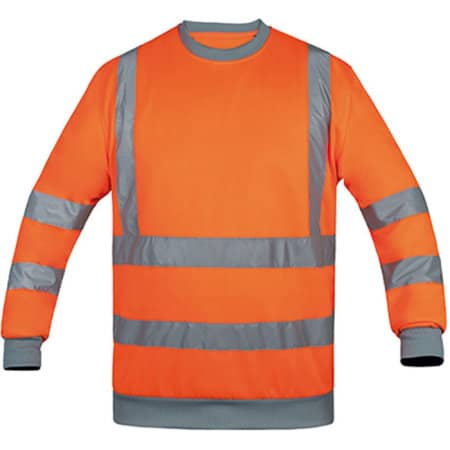 Sweatshirt Hi-Viz in Signal Orange von Korntex (Artnum: KX324