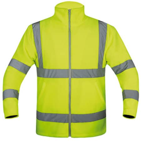 Fleece-Jacket in Signal Yellow von Korntex (Artnum: KX800