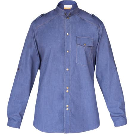 Kochhemd Jeans 1892 California von Karlowsky (Artnum: KY111