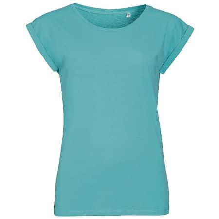 Women`s Round Neck T-Shirt Melba von SOL´S (Artnum: L01406