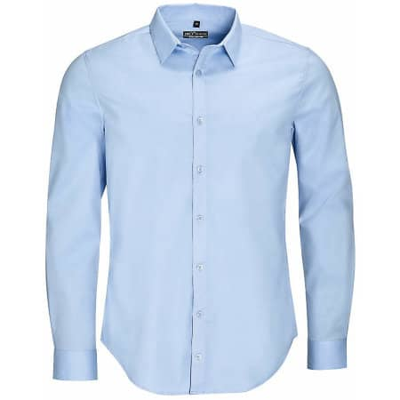 Men`s Long Sleeve Stretch Shirt Blake von SOL´S (Artnum: L01426