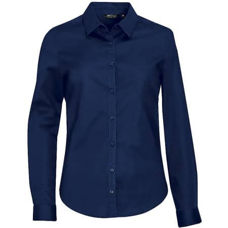 Women`s Long Sleeve Stretch Shirt Blake von SOL´S (Artnum: L01427