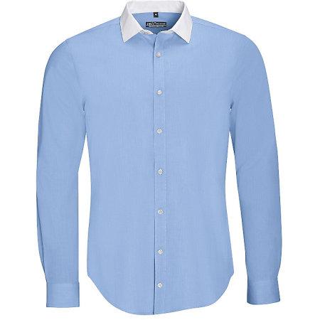 Men`s Long Sleeve End-To-End Shirt Belmont von SOL´S (Artnum: L01430