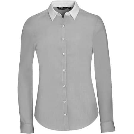 Women`s Long Sleeve End-To-End Shirt Belmont von SOL´S (Artnum: L01431