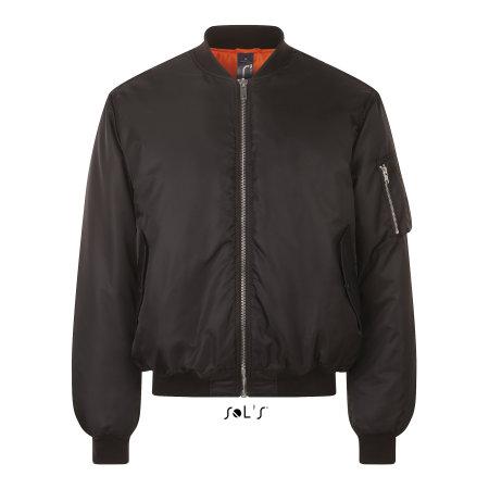 Remington Jacket in Black von SOL´S (Artnum: L01617