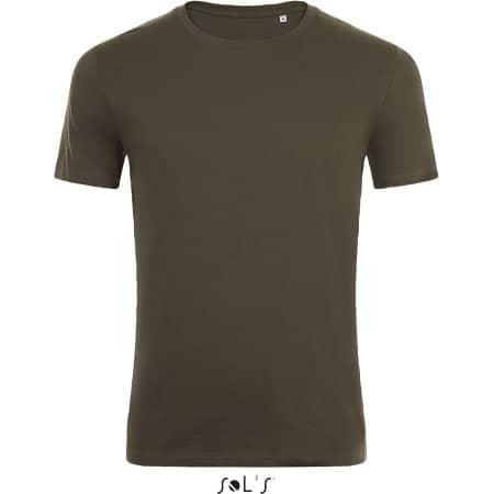 Marvin Tee-Shirt in Army von SOL´S (Artnum: L01698