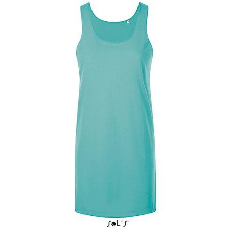 Cocktail Dress in Caribbean Blue von SOL´S (Artnum: L01701
