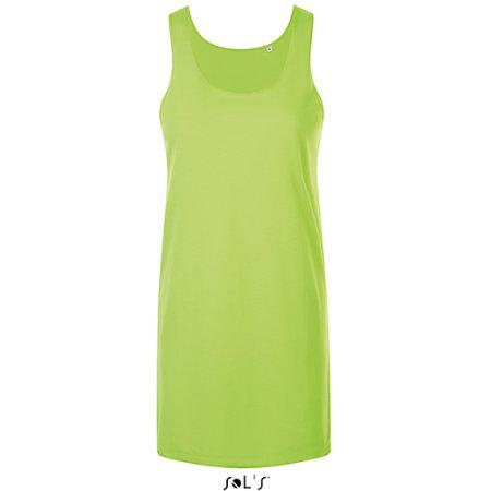 Cocktail Dress in Neon Green von SOL´S (Artnum: L01701