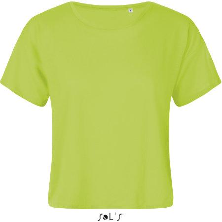 Maeva Tee-Shirt in Neon Green von SOL´S (Artnum: L01703